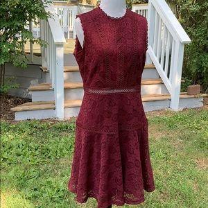 Altar'd State lace crochet sleeveless dress L
